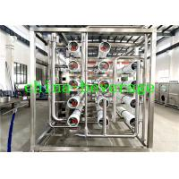 Quality Commercial Reverse Osmosis Water Purification System , Drinking Water Treatment Machine for sale