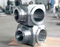 Quality GB / T3077-1999 20CrMnMo Alloy Steel Forgings , Forged Steel Valve For Gas / Oil Industry for sale