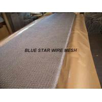 Quality Square Wire Mesh Mist Eliminator Stainless Steel / MONEL Demister Pad In Air Conditioner for sale