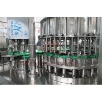 China Touch Screen Glass Bottle Filling Machine Automatic Rotary High Efficency on sale