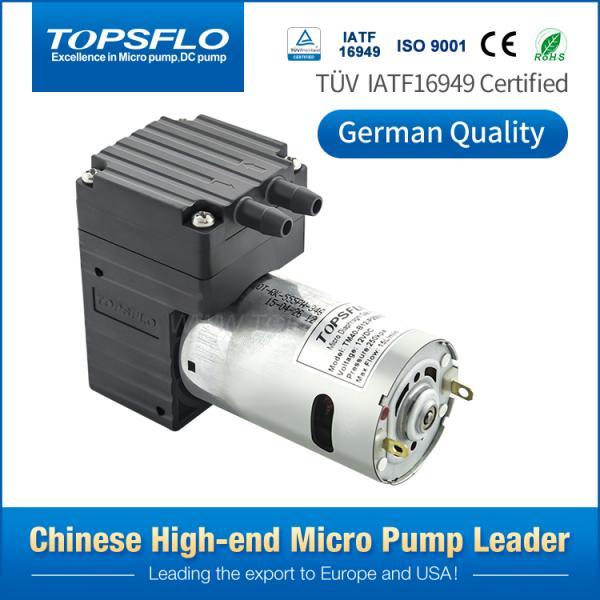 Buy High Pressure DC Brushed Motor Mini Gas Air Pump Diaphragm Medical Ventilator Pump at wholesale prices
