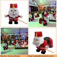 Quality Amusement Park Battery Motorized Animal Scooter, Kids Scooters for Christmas Theme Park for sale