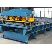 Quality Steel Roofing Sheet Roll Forming Machine PPGI GI IBR Trapezoid , Roof Sheet Rolling Machines for sale