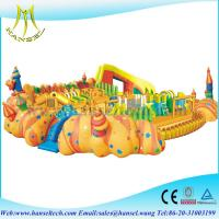 Quality Hansel Big Inflatable Water Park Equipment, Giant Inflatable Water Games for Adult for sale