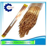 China 1.0x400mmL Double Hole Eletrode Pipe Brass Copper Tube For EDM Drill Machine on sale