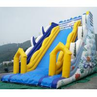 Quality Large Inflatable slides with warranty 24months for commercial rental bussiness for sale