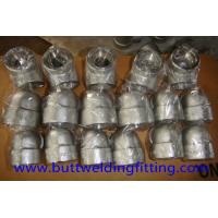 Buy 90 Degree Super Duplex Stainless Steel Forged Elbow 3000LB DN25 UNS S32750 at wholesale prices