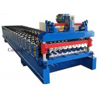 Quality Hydraulic Cutting Roofing Sheet Roll Forming Machine 380v 8-12m/Min Productivity for sale