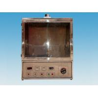 China 0.5M3 Volume Mine Electrical Test Equipment Wire Flame Tester With Exhaust Device on sale