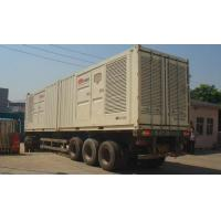 Quality Professional Silence Soundproof Genset Power Plant , Man Containerised Generator Set for sale