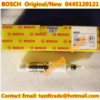 Quality BOSCH Original and New Injector 0445120121 / 4940640 for Cummins ISLE engine for sale