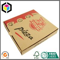 Quality Pizza Take Away Food Grade Paper Carton Box; Color Print Pizza Paper Packaging Box for sale