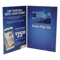 China Handmade Touch Screen LCD Video Greeting Cards 800×480 Pixel For VIP Treatment on sale