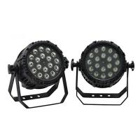 Buy IP65 2000lux 18pcs 10watt LED Par Stage Lights with LCD screen at wholesale prices