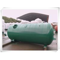 Buy Industrial Compressed Oxygen Air Storage Tanks , Liquid Oxygen Portable Tanks With Bracket at wholesale prices