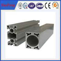 Quality OEM manufacture aluminum t slot extrusions, supply names of aluminum profile for sale