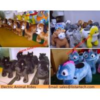 Amusement Park Coin Operated Kiddie Rides, Electric Walking Animal Rides for mall for sale