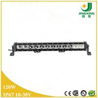 China High power led light bar CREE 120w single row auto led light bar on sale