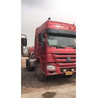 Quality 6x4 Drive Mode Used Tractor Truck Sinotruck HOWO Brand With 3 Seat for sale