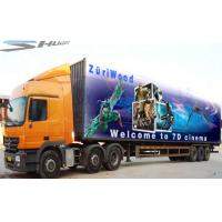 Quality Mobile Truck 7D Cinema System Waterproof Motion Cinema Seat for sale