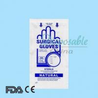 Quality Dental hospital equipment EN455 ASTMD CE ISO disposable powdered latex surgical gloves for sale
