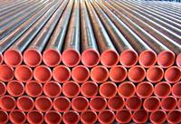 Quality BS1387-85 Black Welded Carbon Steel Pipes X56 X60 X65 X70 X80 for sale