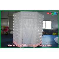 Buy cheap PVC Coated Inflatable Octagon Mobile Photo Booth Tent With LED Lighting from wholesalers
