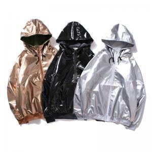 Quality Hip Hop Style B-BOY Mens Reflective Jacket Windbreak Shining Windproof for sale