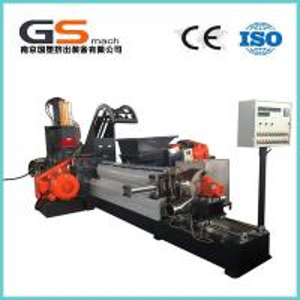 Quality Single Screw Plastic Granules Machine, Polyethylene Pellet Extruder Machine for sale