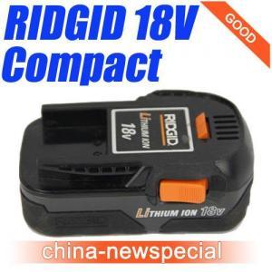 Quality Ridgid 18V Compact Li-ion Battery 18Volt Lithium Batteries R840084 for sale