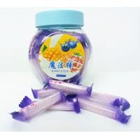 Quality Blueberry Flavor Healthy Hard Candy / Magic Stick Sweet 4g * 70pcs * 30bottles for sale