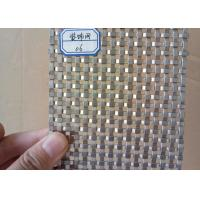 Quality High Strength Flat Wire Mesh Specializing In Production / Metal Wall for sale