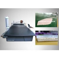 Buy cheap Sensitive Cloth CO2 Laser Cutting Machine With Powerful Integration Software from wholesalers