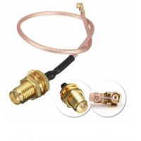 DC To 6GHz Coaxial Cable Connectors , RG316 Waterproof Sma Connector