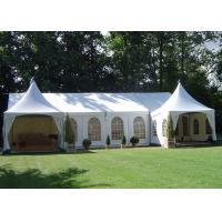 China Sizes Customized PVC Pagoda Party Tent With Sidewalls ISO 9001 Approved for sale