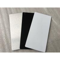 Quality Weatherproof Exterior Wall Cladding Boards Smooth Surface With Fire Resistance for sale