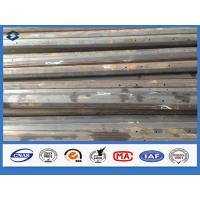 China Semi-finished Q345 Steel Octagonal 11m Electricity Transmission Steel Pole on sale