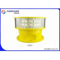 Quality Flashing Mode Aeronautical Obstruction Light High Borosilicate Glass Material for sale