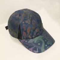 Quality OEM/ODM ACE brand 100% polyester reflective print sport golf baseball hat cap for sale
