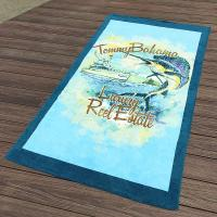Quality Custom California Printed Towels Swimmingwear 30x60  10lbs Accessories Promote for sale