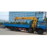 Quality 16ton dongfeng 8x4 crane truck for sale