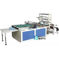China Hot Cutting Side Sealing And Cutting Bag Making Machine 5.5Kw Step Motor Driving on sale