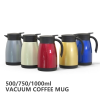 Quality Multi Color 68 Oz BSCI Vacuum Insulated Teapot for sale