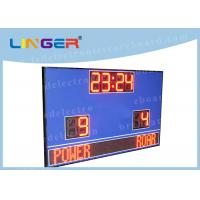 Quality Waterproof Cabinet With Wireless Controller Led Football Scoreboard for Outdoor Use for sale