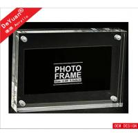Quality Elegent 5 X 7 Acrylic Multi Photo Frames Acrylic Picture Frames Used In Hotel / Park for sale