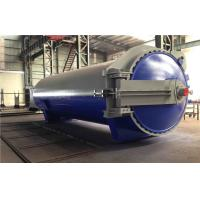 Quality Rubber Vulcanized Autoclave With Safety Interlock , PLC Control,and is of high temperature and low pressure for sale