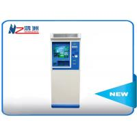 China 42 inch touch powder coated ticket vending kiosk for tourist attractions on sale