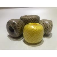 Twist Caco3 Polypropylene Twine For Cable Filler 7-40kg / Roll With Spool