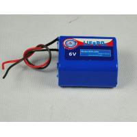 China 6V 4.5AH Rechargeable Lifepo4 Lithium Battery For Emergency Light on sale