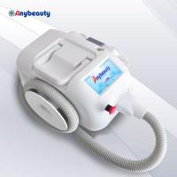 Quality White Mini Nd Yag Laser Tattoo Removal Machine 300w Crash Quake Proof for sale